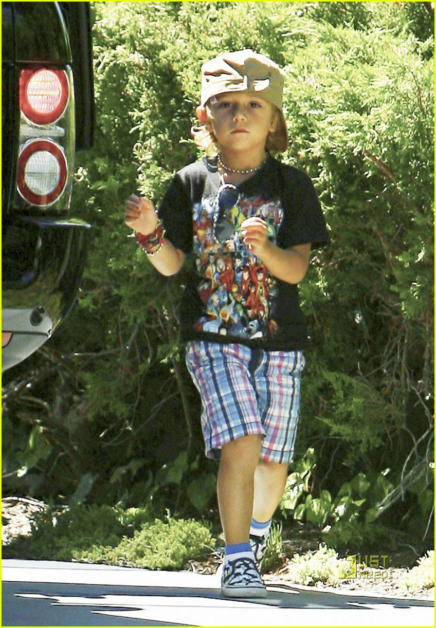 gwen stefani gavin rossdale kingston birthday party 072474815