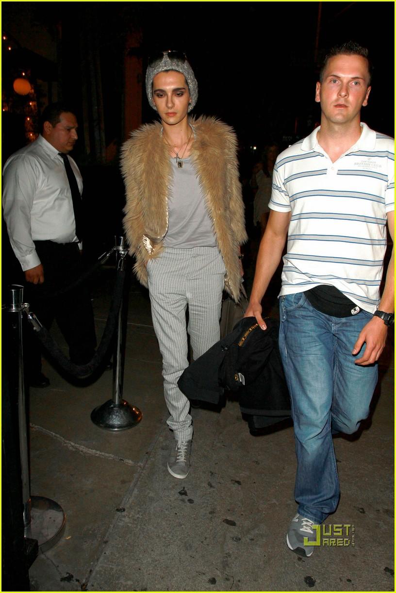 Bill Kaulitz Hits STK Steakhouse : Photo 2474697 | Bill Kaulitz, Tokio Hotel Pictures | Just Jared