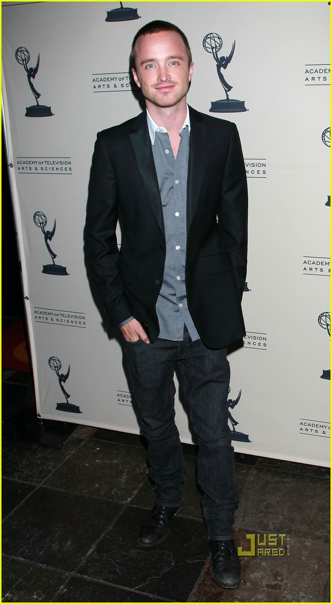 aaron paul bryan cranston television arts and sciences peer emmy reception 062471624