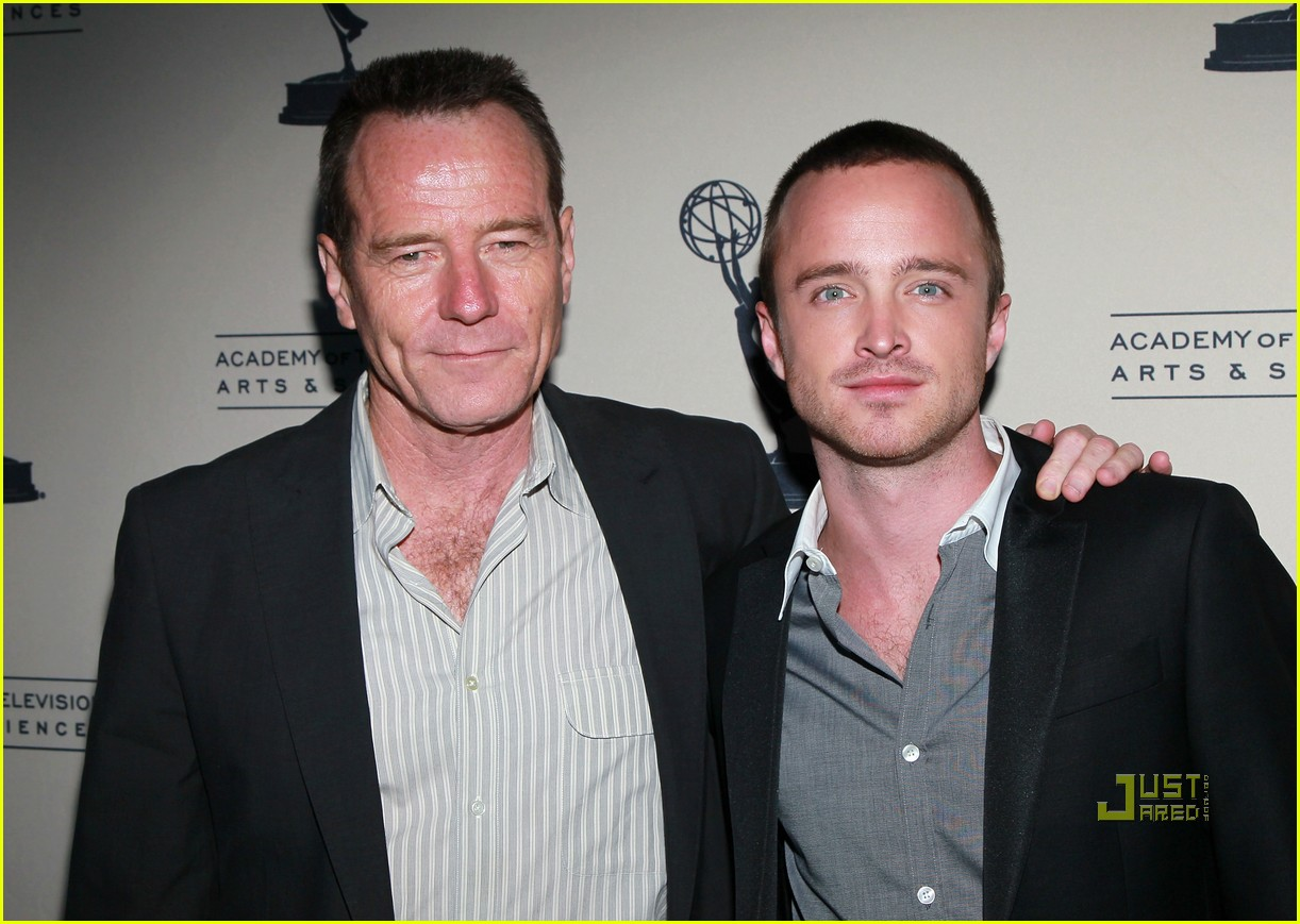 aaron paul bryan cranston television arts and sciences peer emmy reception 092471627