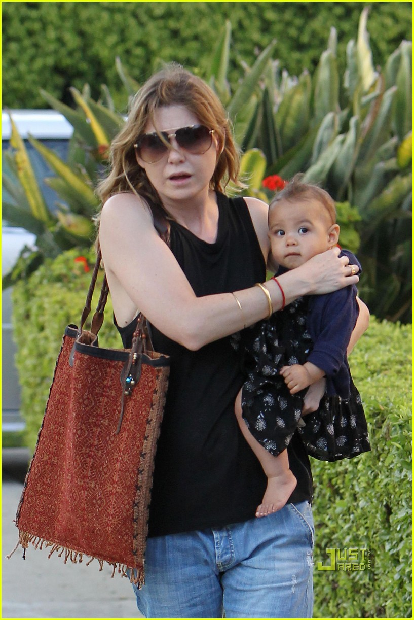 ellen pompeo chris ivery happy family with stella 012472212