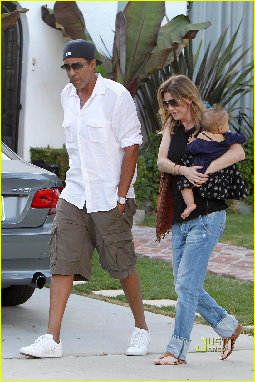 ellen pompeo chris ivery happy family with stella 022472213