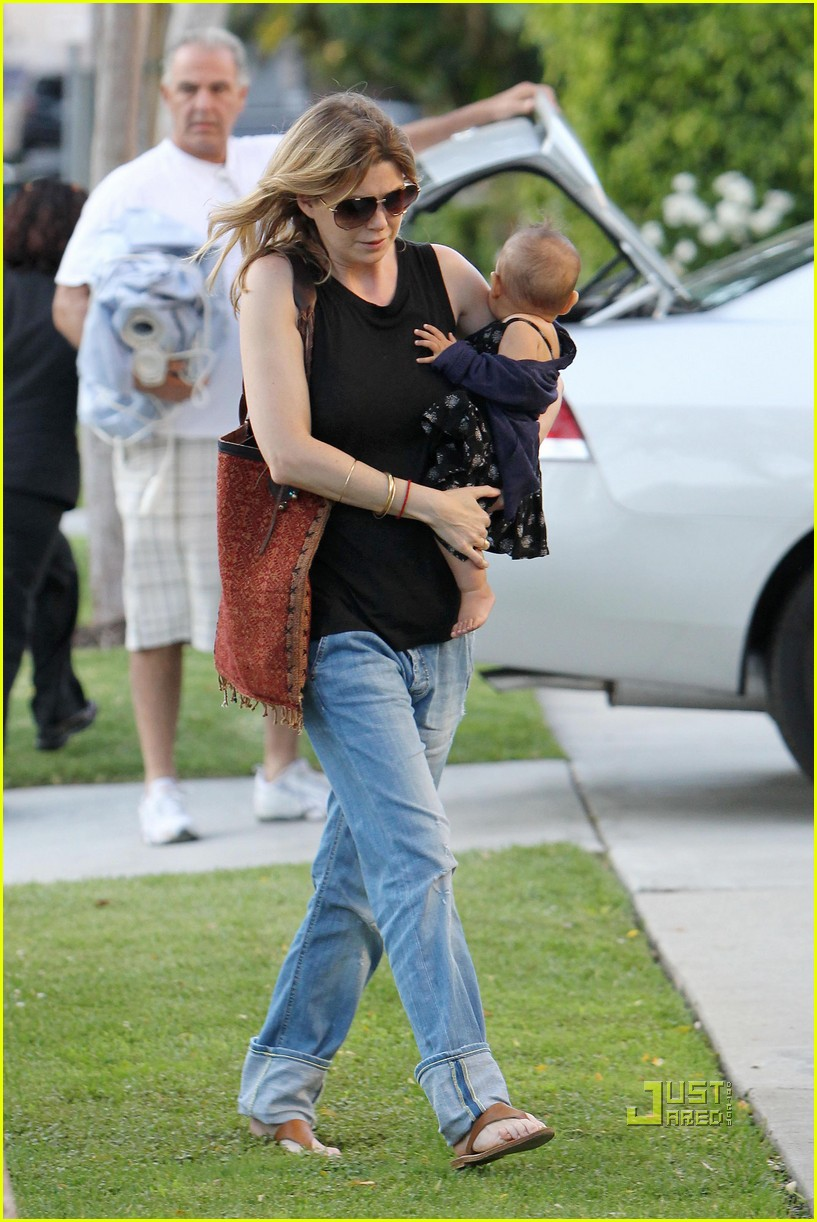 ellen pompeo chris ivery happy family with stella 042472215
