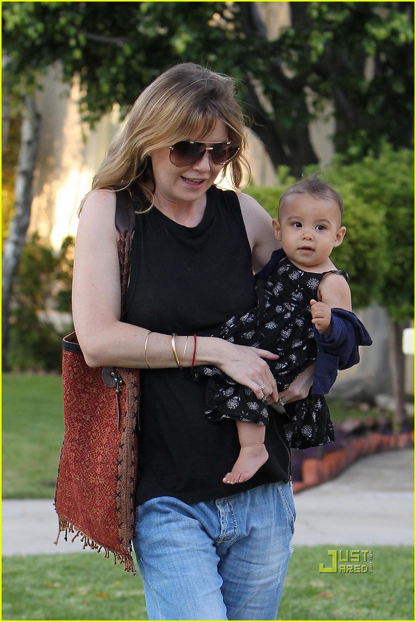 ellen pompeo chris ivery happy family with stella 052472216