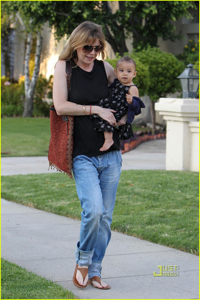 ellen pompeo chris ivery happy family with stella 092472220