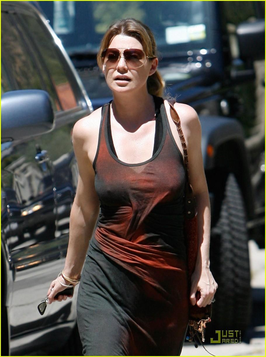 Ellen Pompeo: Hot Day,...