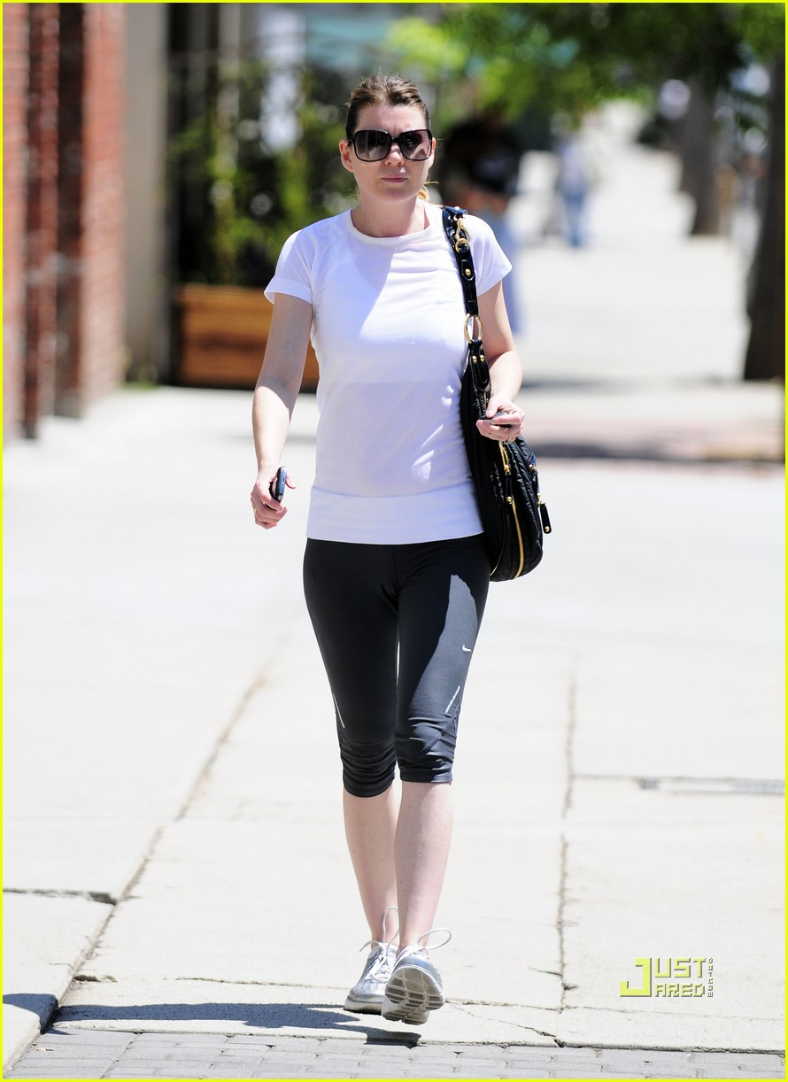 ellen pompeo workout errands studio city 082473969