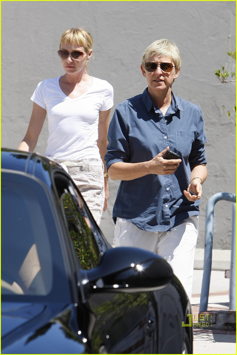 ellen degeneres portia de rossi art galleries hollywood 012476005