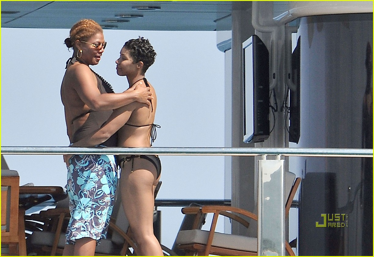Queen Latifah & Jeanette Jenkins: PDA Pair: Photo 2471795 ...
