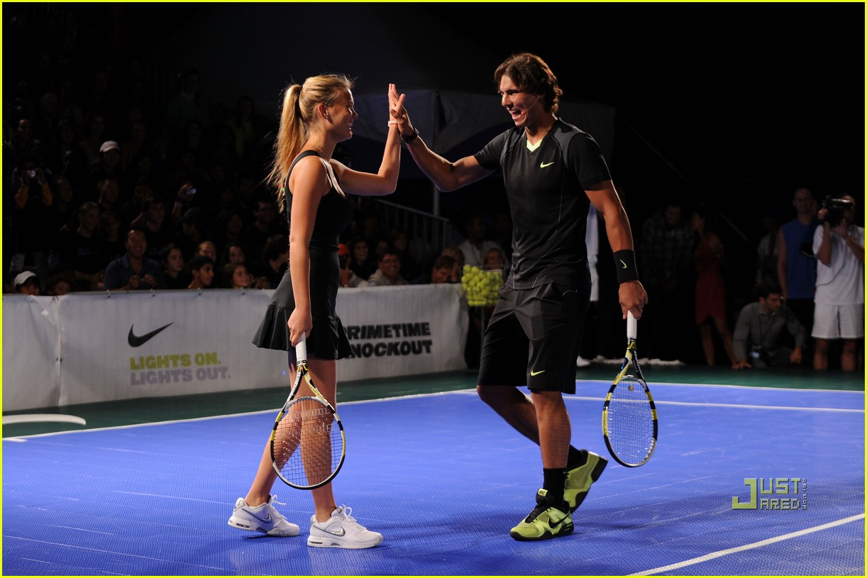 bar refaeli rafael nadal nike tennis primetime knockout 03