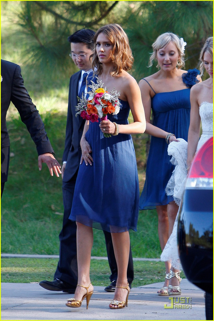 jessica alba bridesmaid in beverly hills photo 2481143