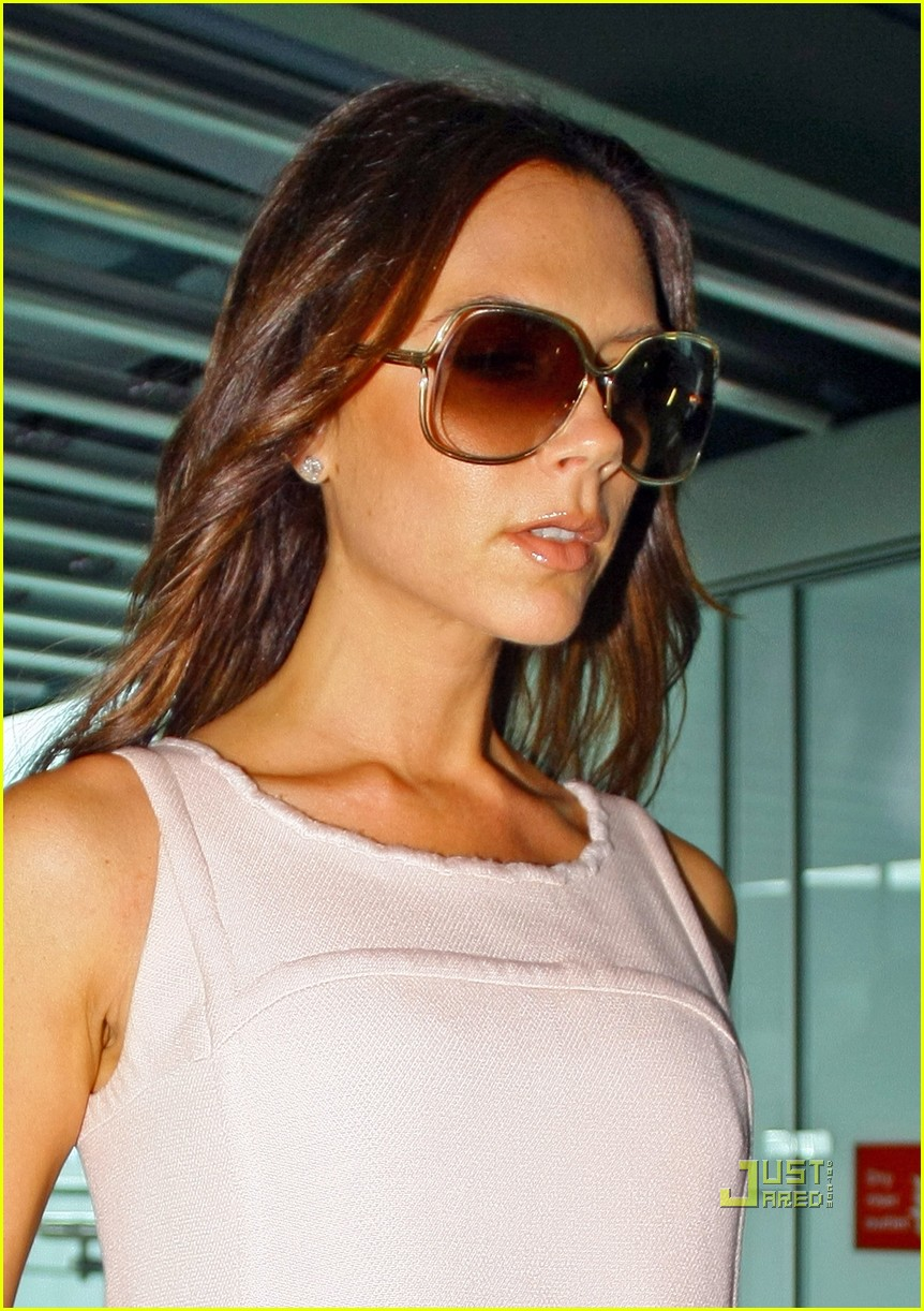 victoria beckham flight to ny pocket dress 032478197