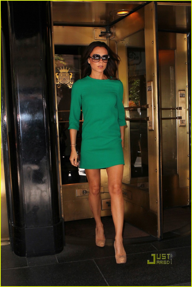 victoria beckham leaving hotel nyc 012478623