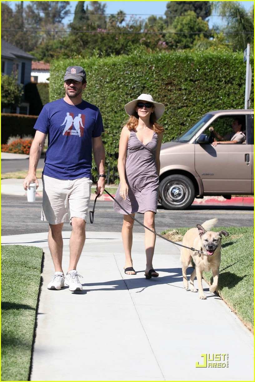 jon hamm jennifer westfeldt walk the dog 012482794