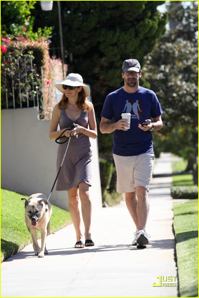 jon hamm jennifer westfeldt walk the dog 022482795