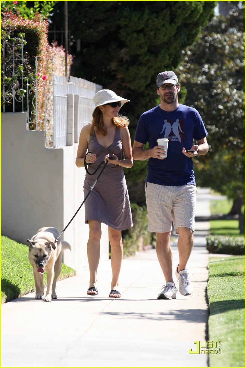 jon hamm jennifer westfeldt walk the dog 032482796