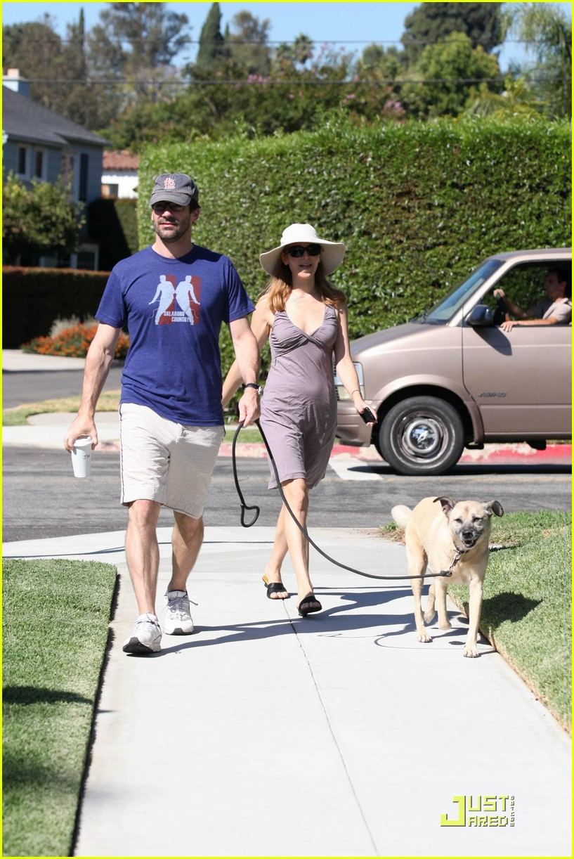 jon hamm jennifer westfeldt walk the dog 052482798