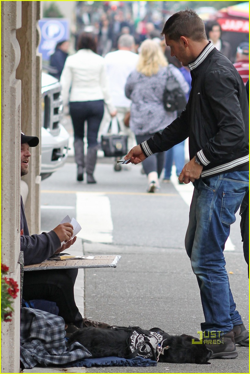 tom hardy homeless man vancouver 042483227
