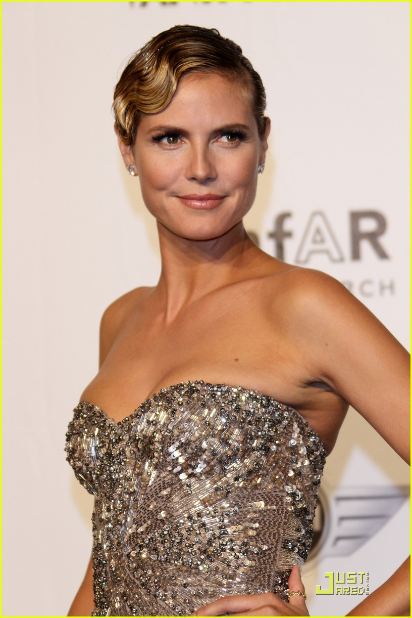 heidi klum amfar milano at milan fashion week 032483638
