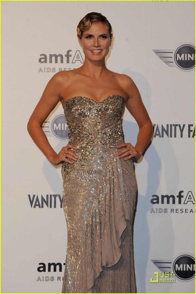heidi klum amfar milano at milan fashion week 08