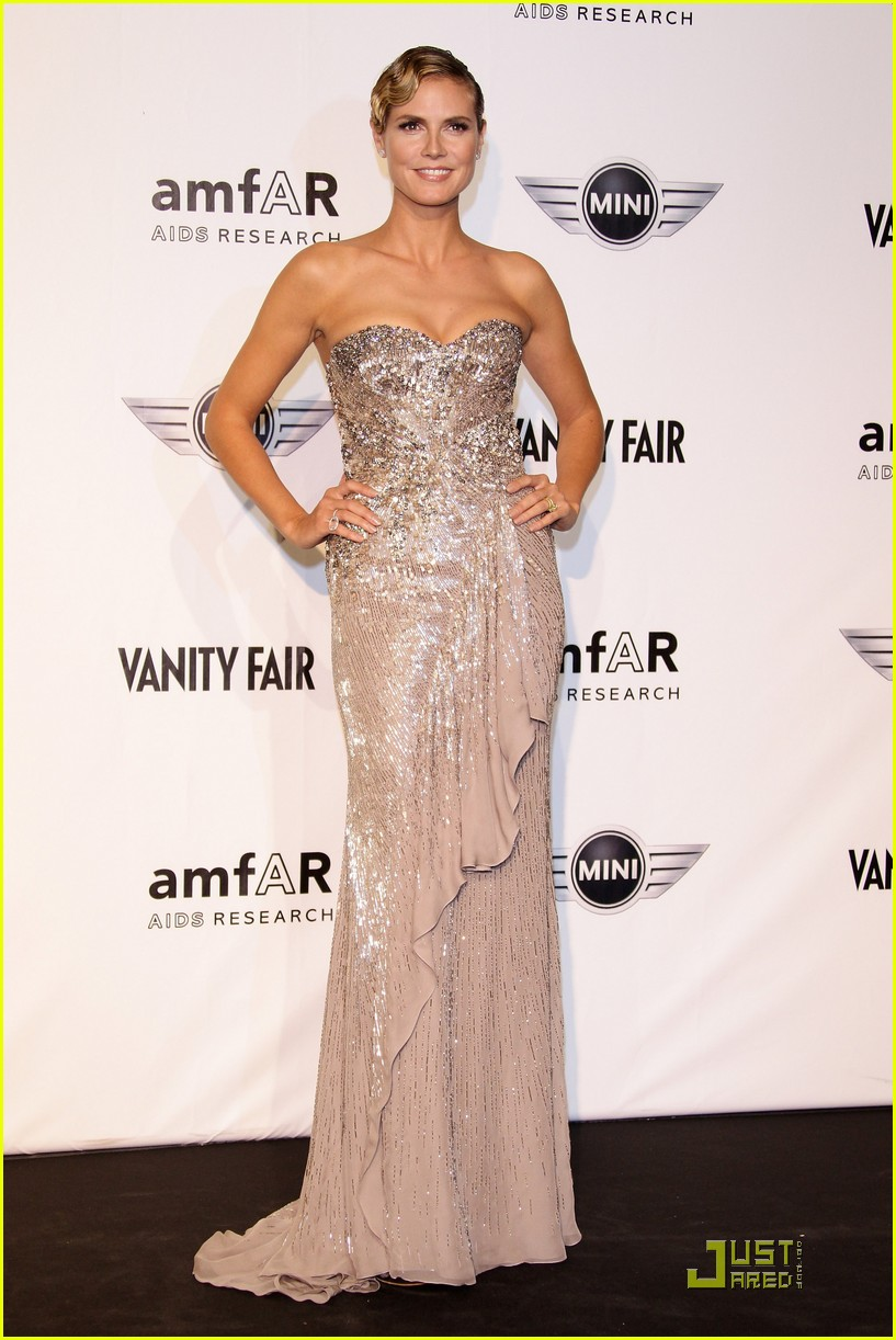 heidi klum amfar milano at milan fashion week 11