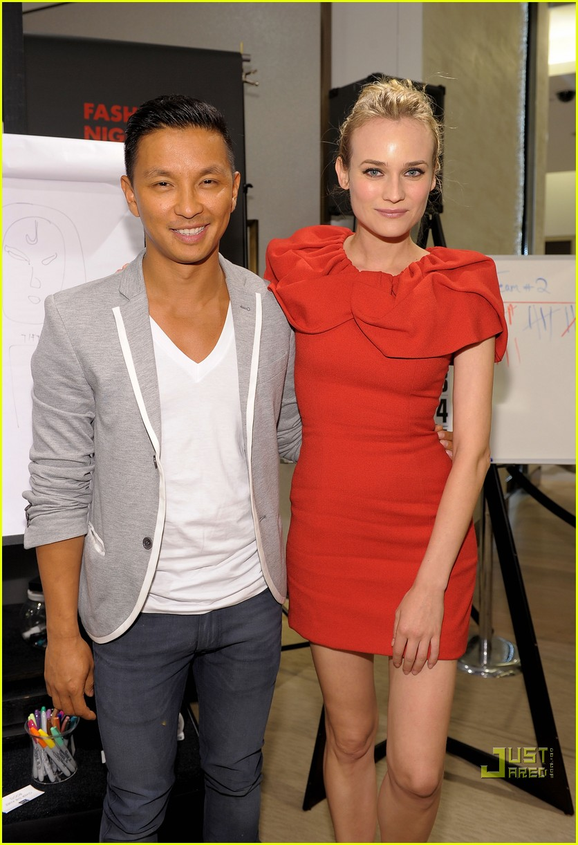 diane kruger fashions night out 092479682