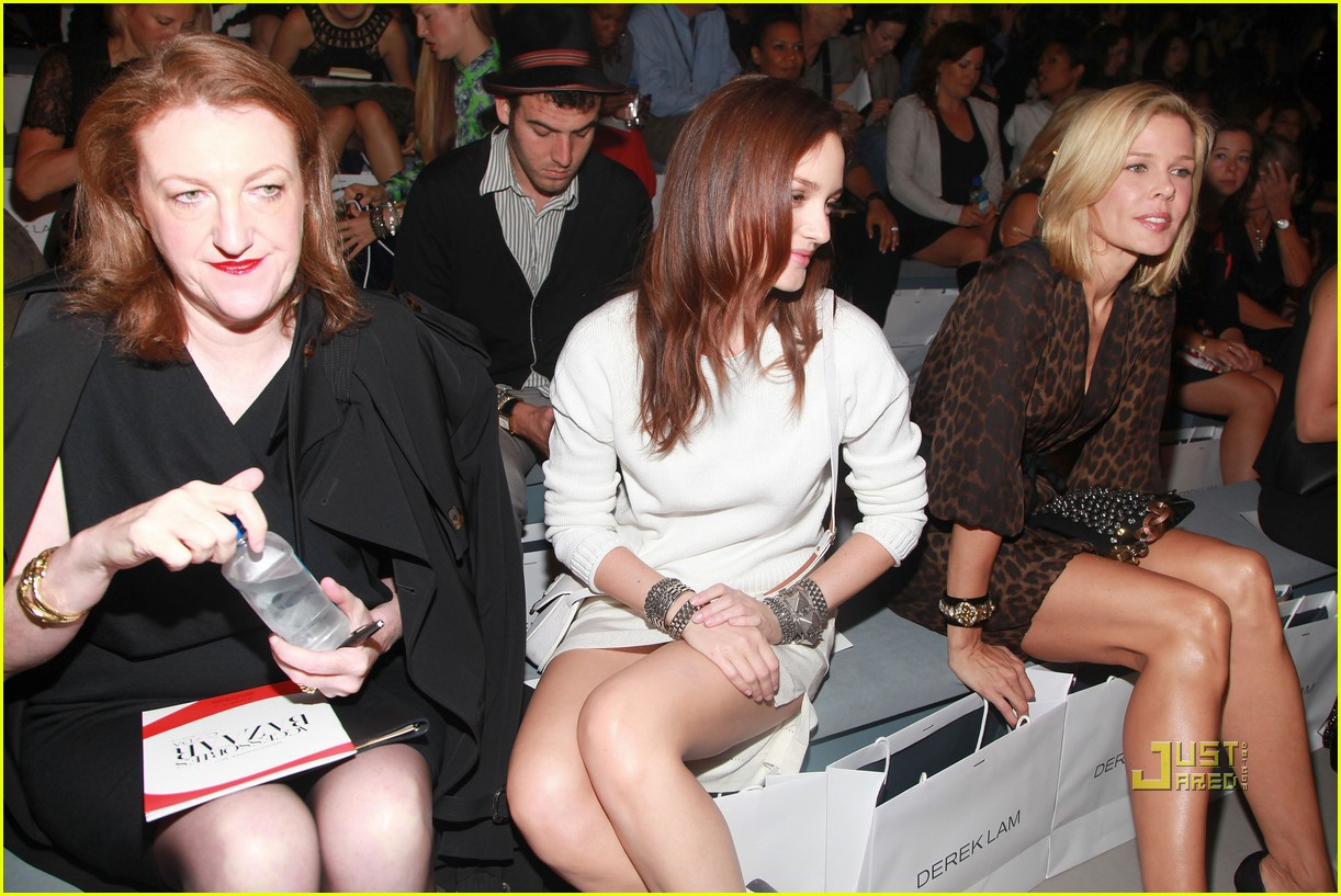 leighton meester derek lam ny fashion week 11