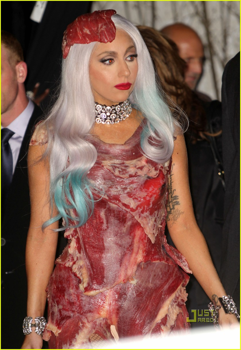 meat dress lady gaga 082479822