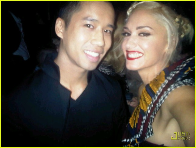 Gwen Stefani + Just Jared = Just Us Gwen Stefani