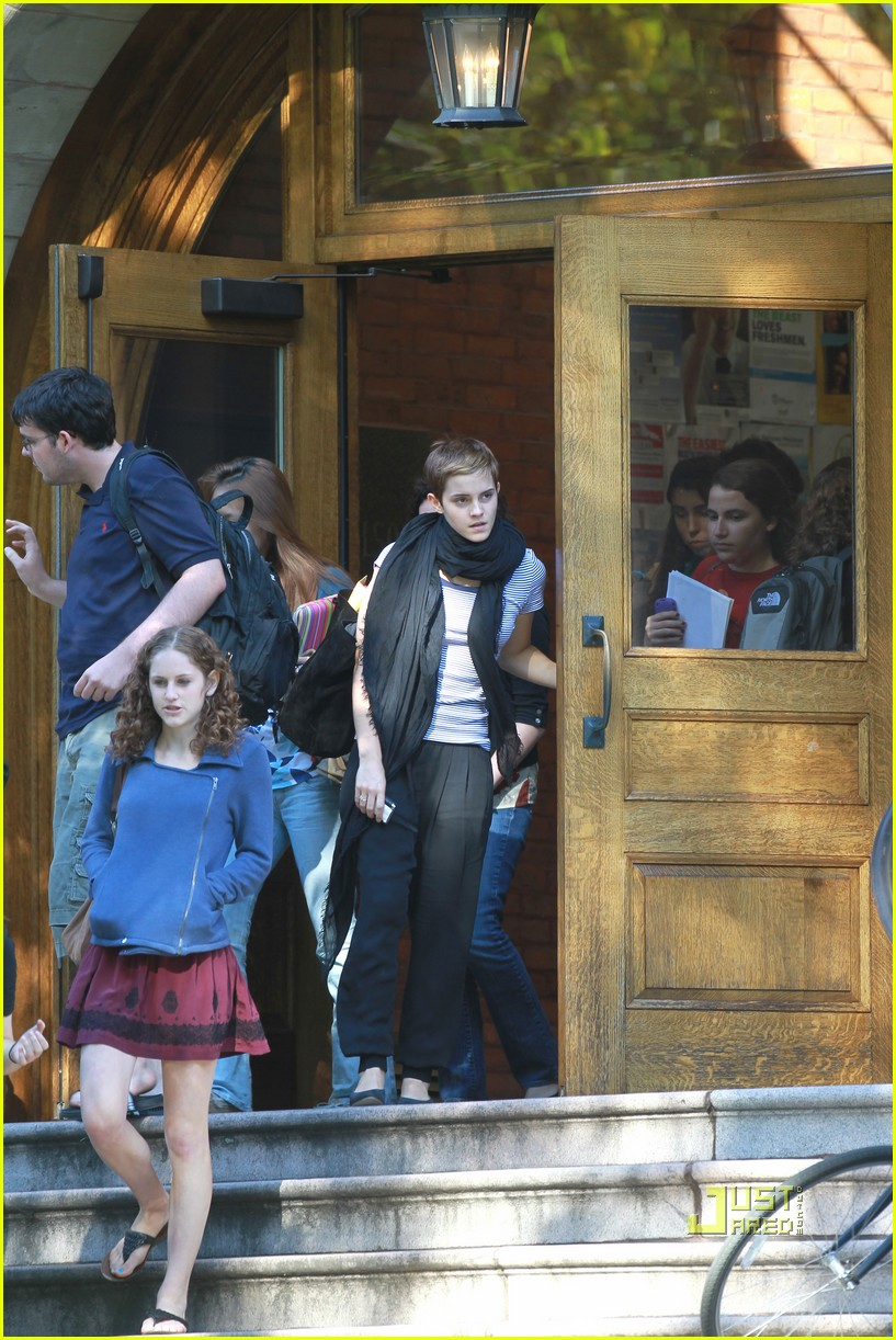 emma watson sophomore year brown university 07