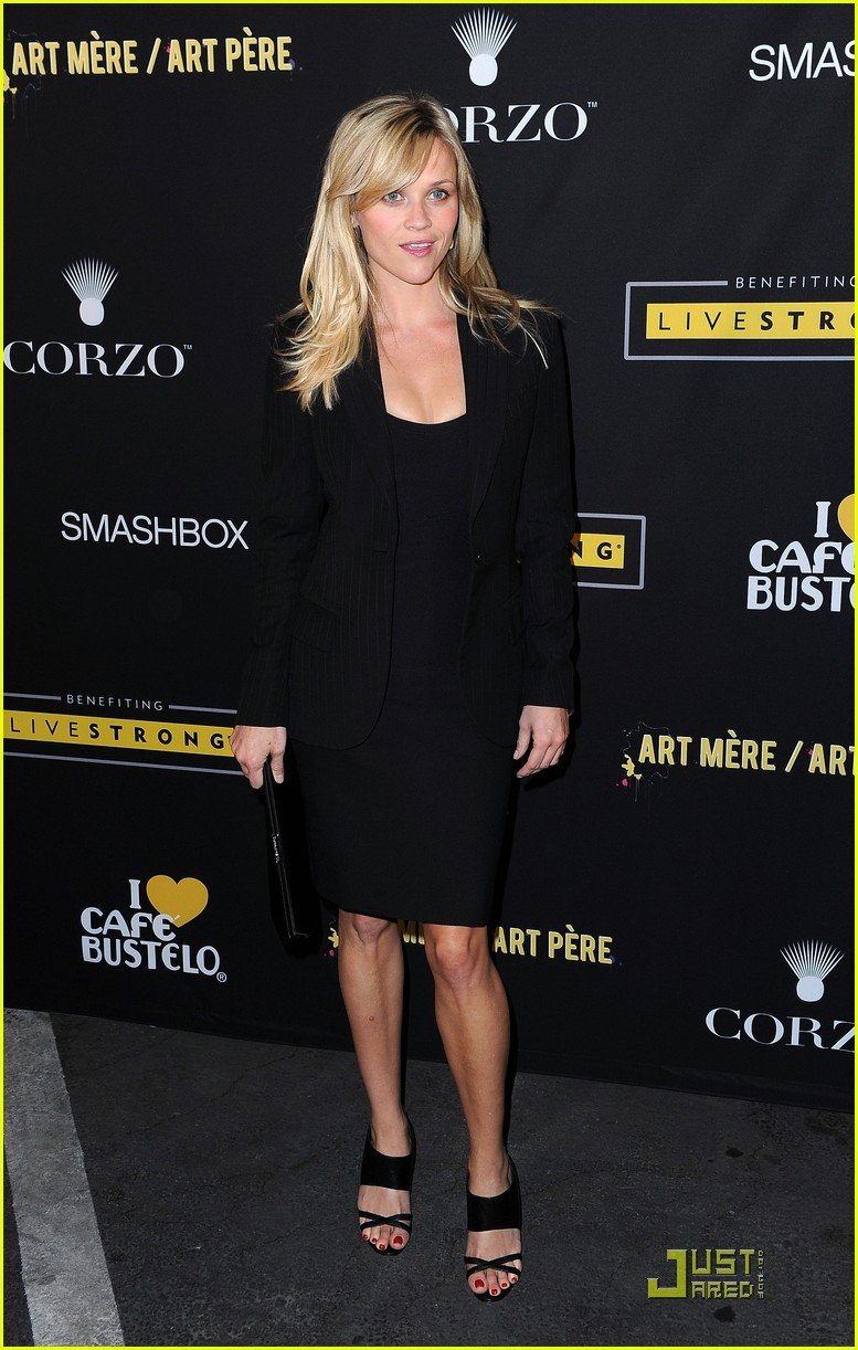 reese witherspoon livestrong foundation 10