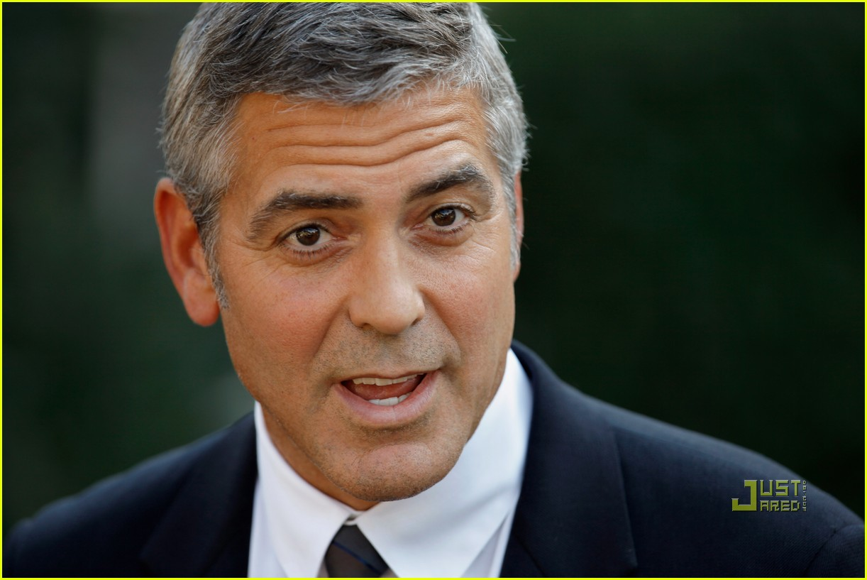 george clooney sudan washington dc 07