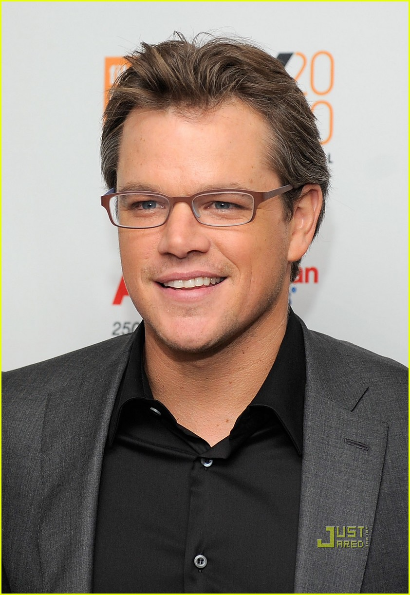 matt damon hereafter premiere Matt Damon