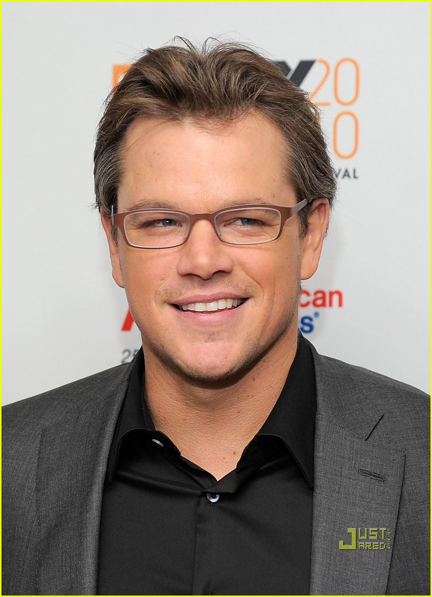 matt damon hereafter premiere with luciana 082486524