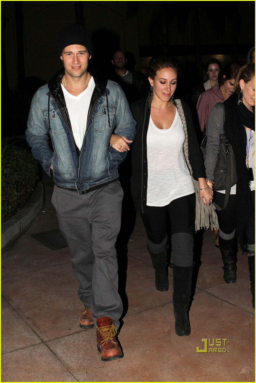 hilary duff haylie nick zano fight night 08