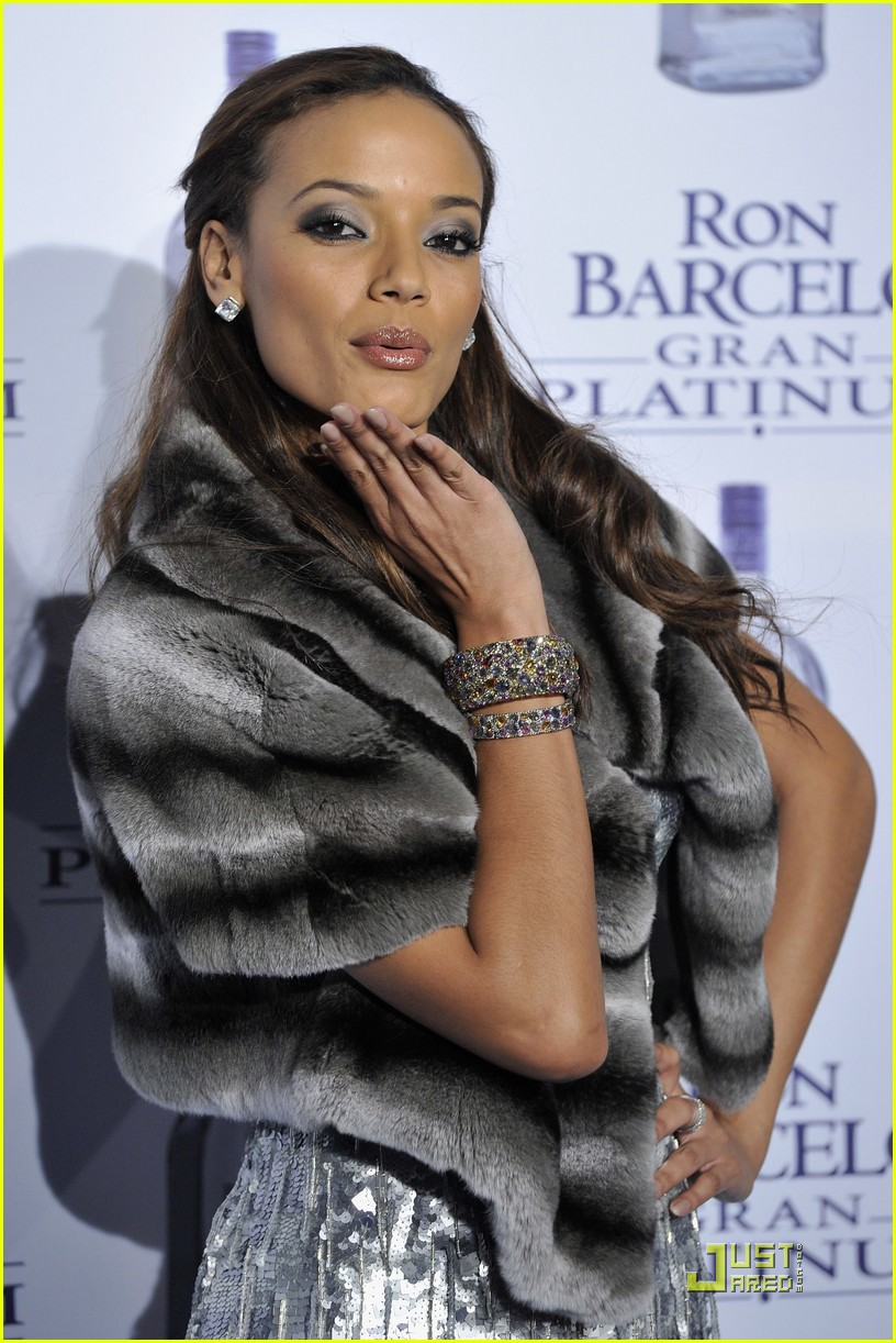 selita ebanks ron barcelo gran platinum party 01