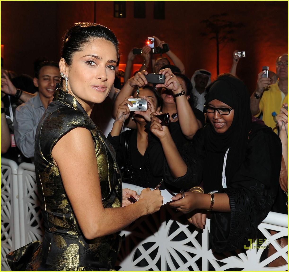 salma hayek doha film festival qatar 052490477