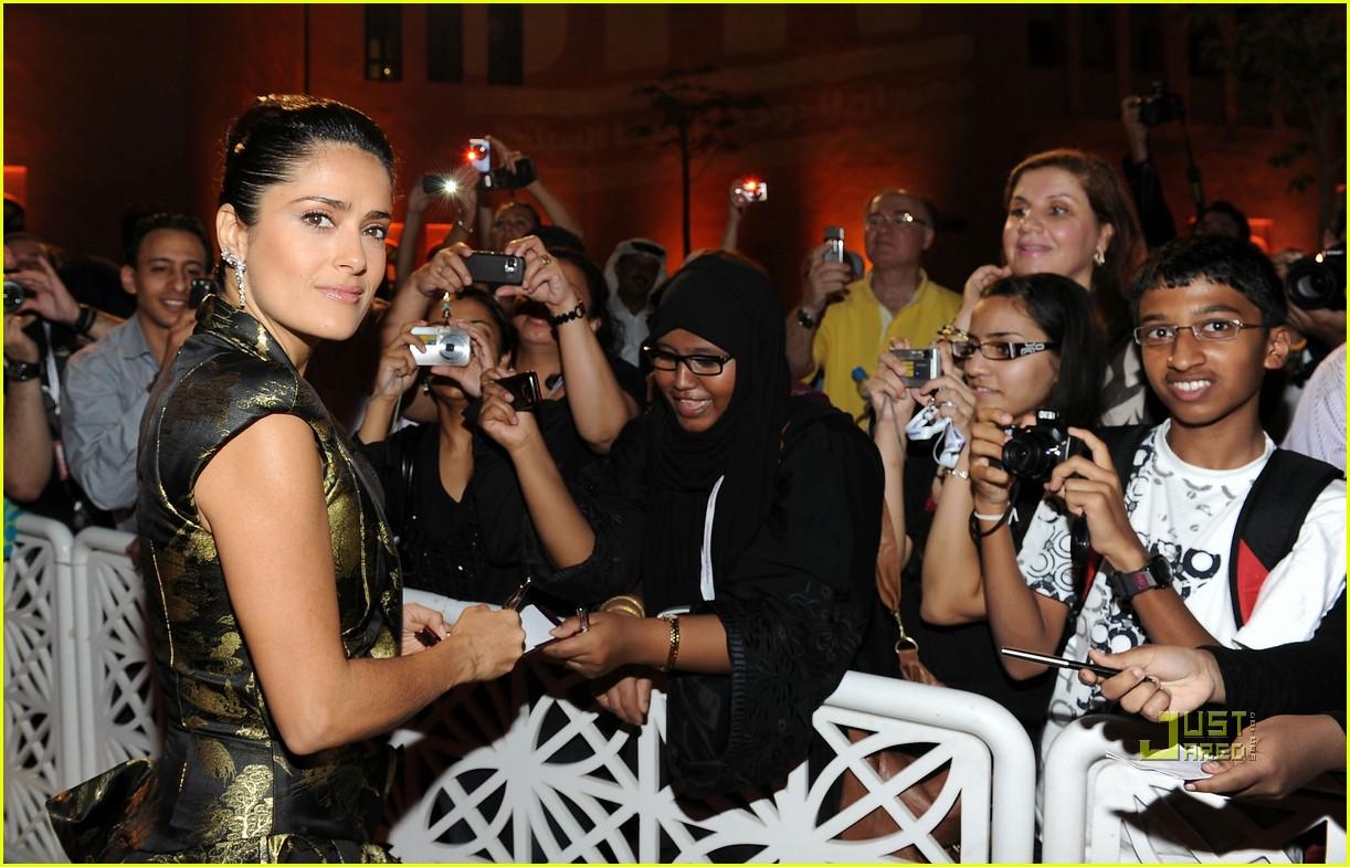 salma hayek doha film festival qatar 082490480