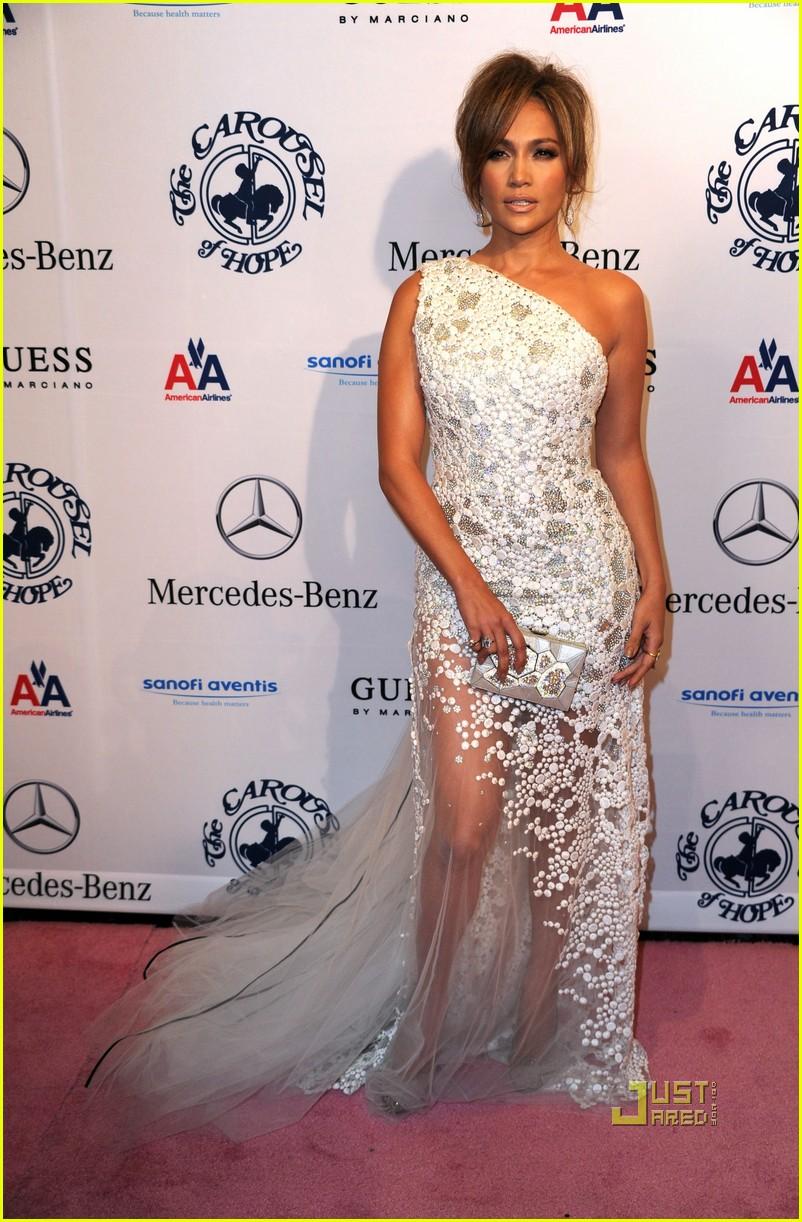 Jennifer Lopez: Carousel of Hope with Marc Anthony!: Photo 2489788 ...