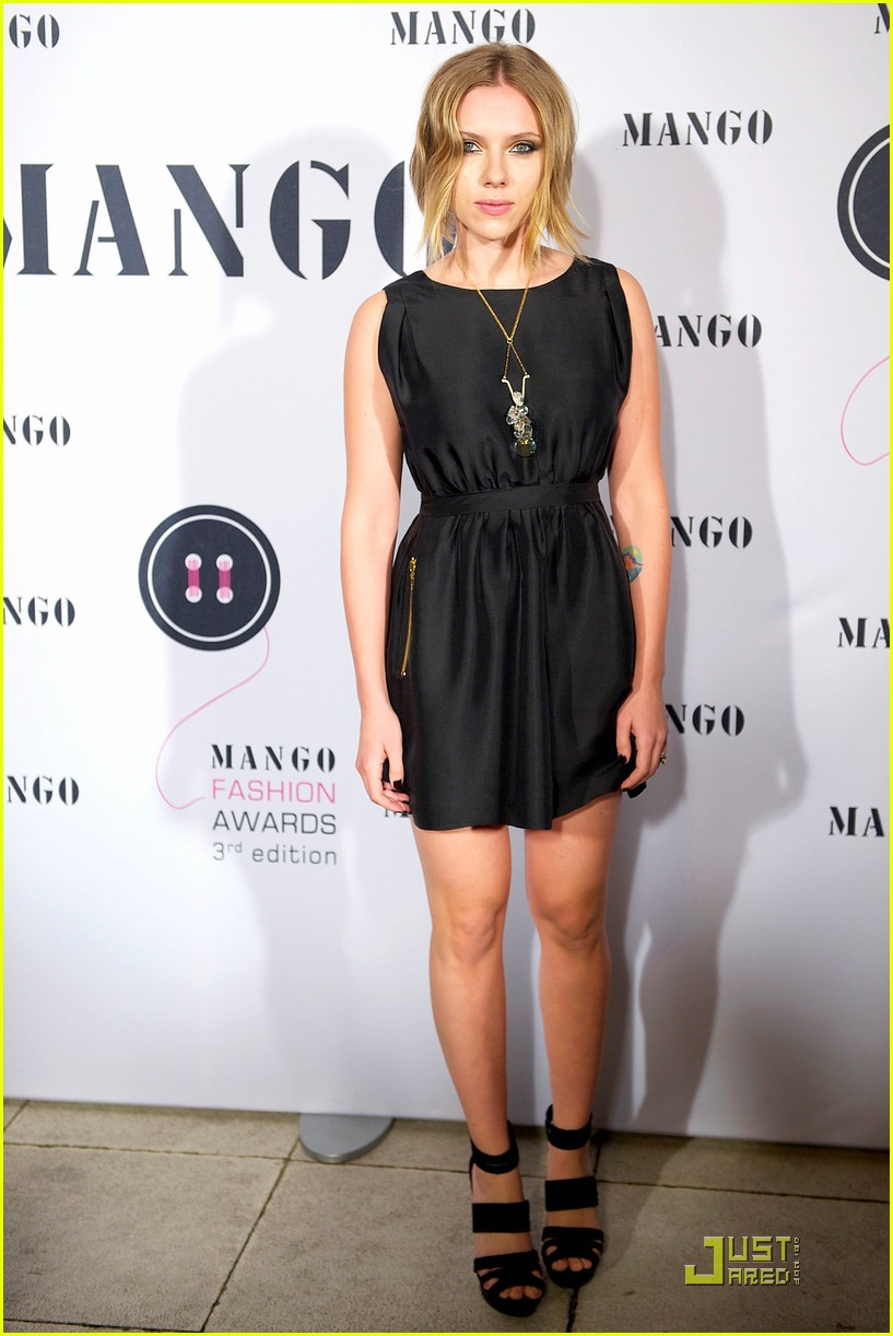 Scarlett Johansson: Mango Fashion Awards: Photo 2489097 ...