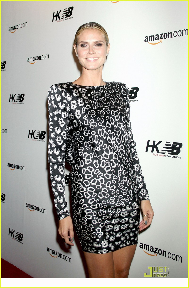 heidi klum teams up with new balance 072485707