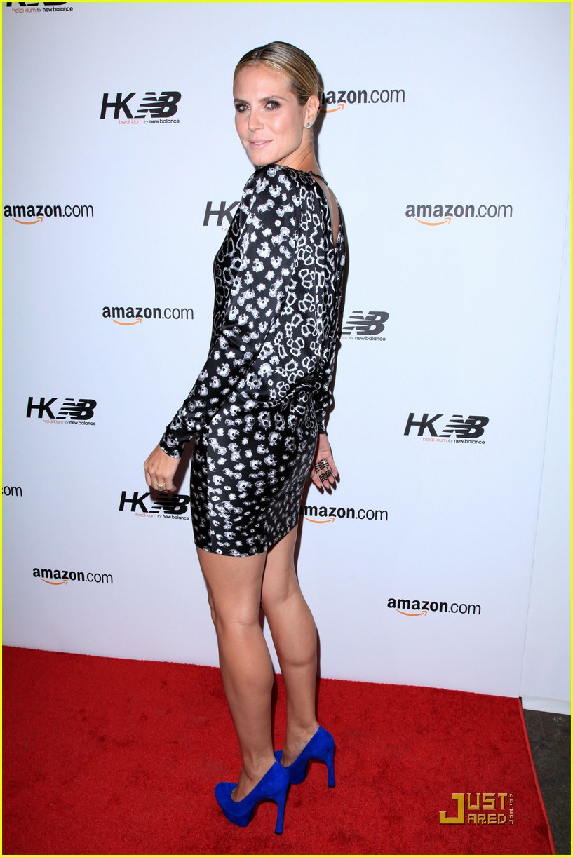 heidi klum teams up with new balance 082485708