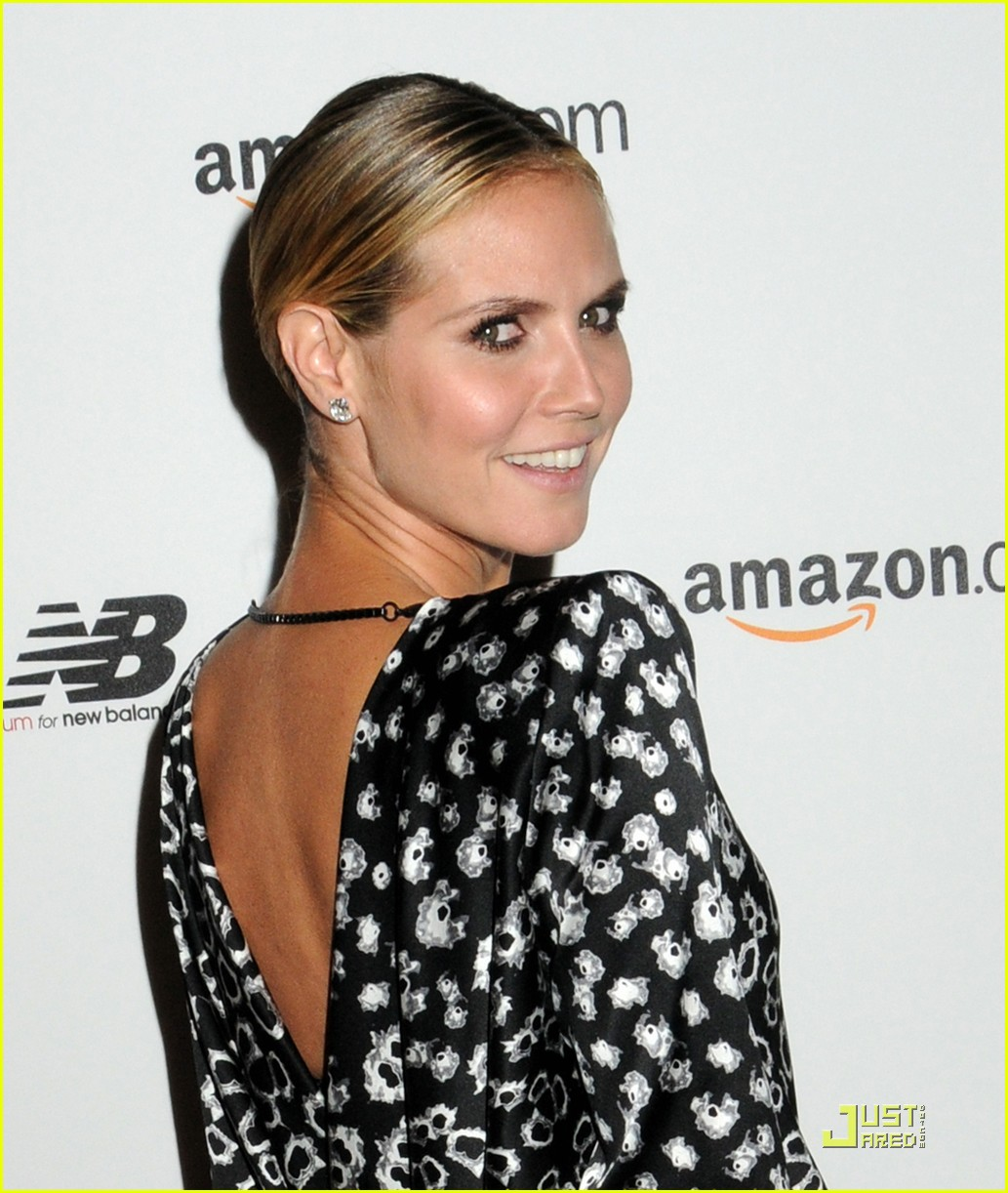 heidi klum teams up with new balance 102485710