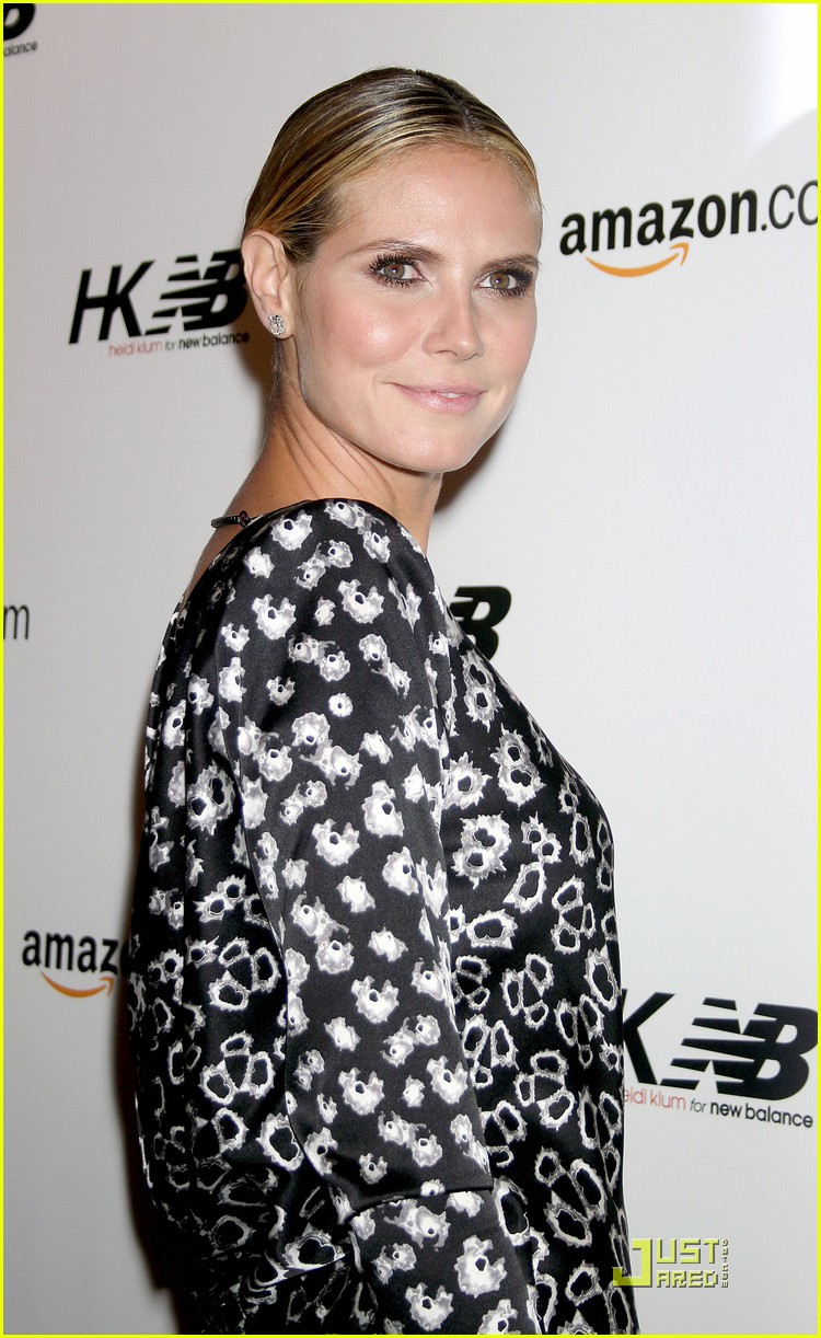 heidi klum teams up with new balance 132485713