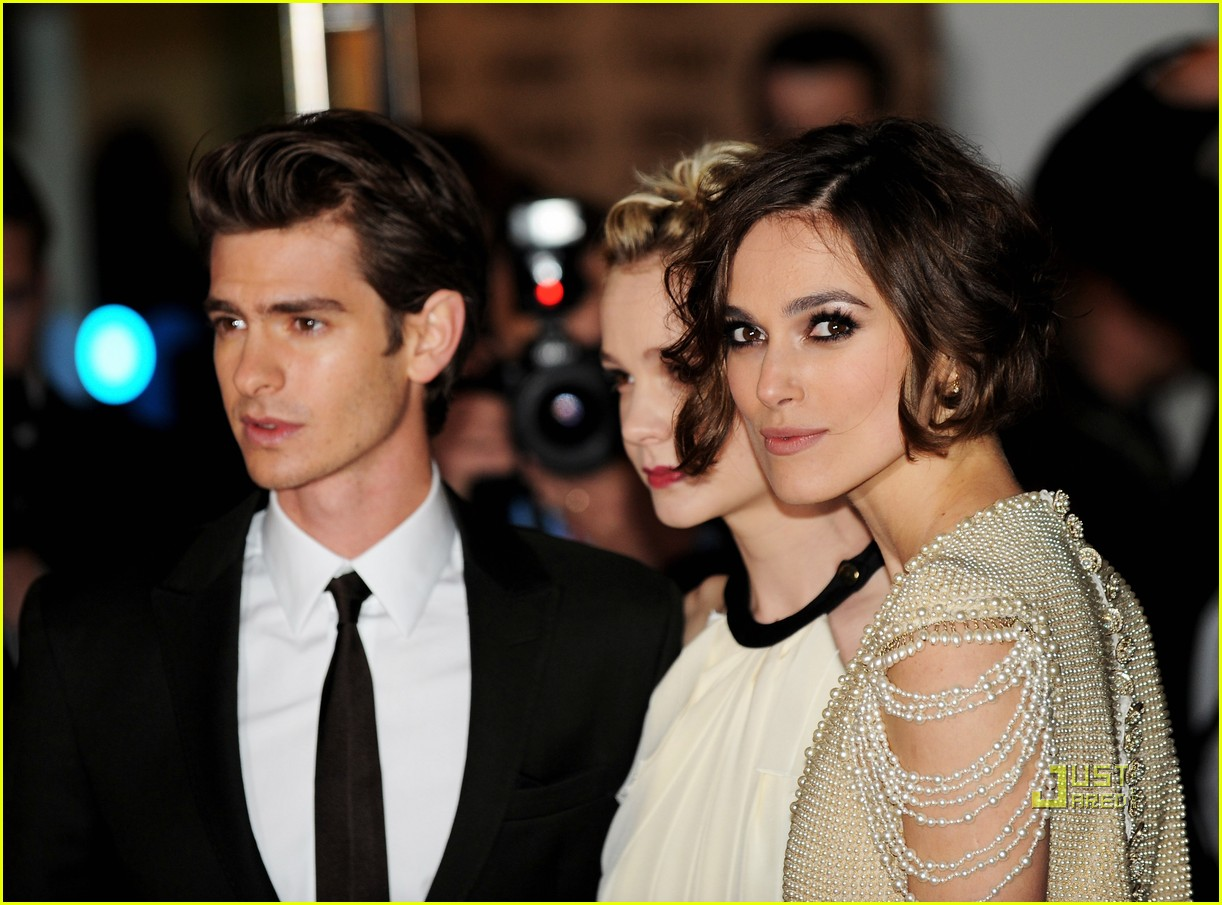keira knightley carey mulligan andrew garfield never let me go premiere 022487243