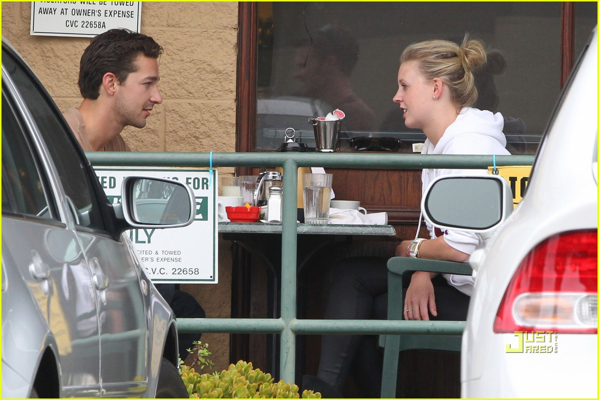 shia labeouf and friend patio pair 022488114