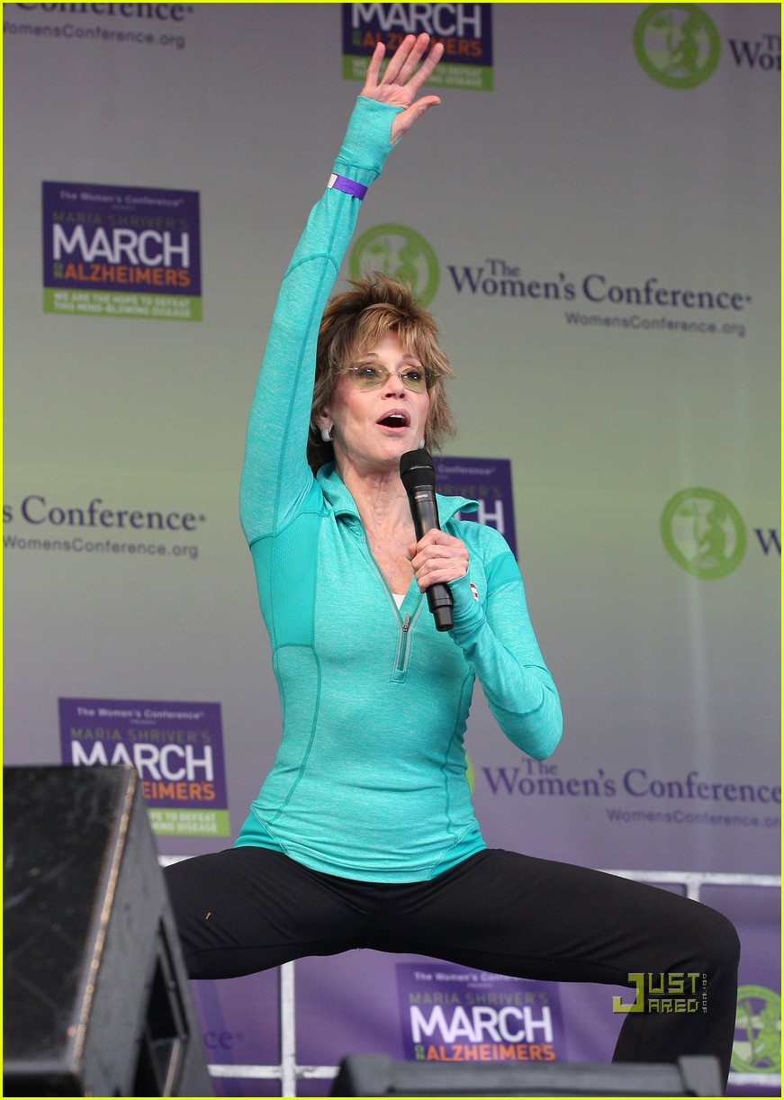jane lynch gets physical with jane fonda 022490031