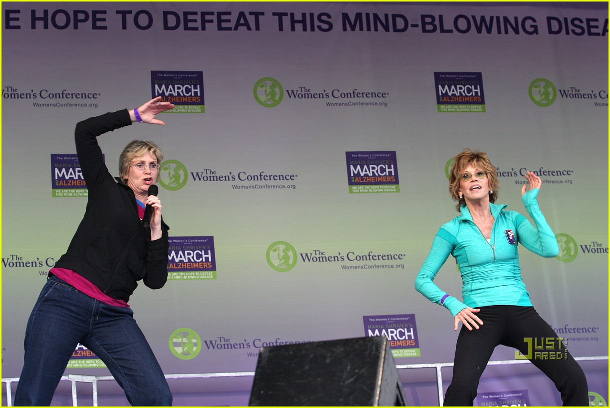 jane lynch gets physical with jane fonda 10
