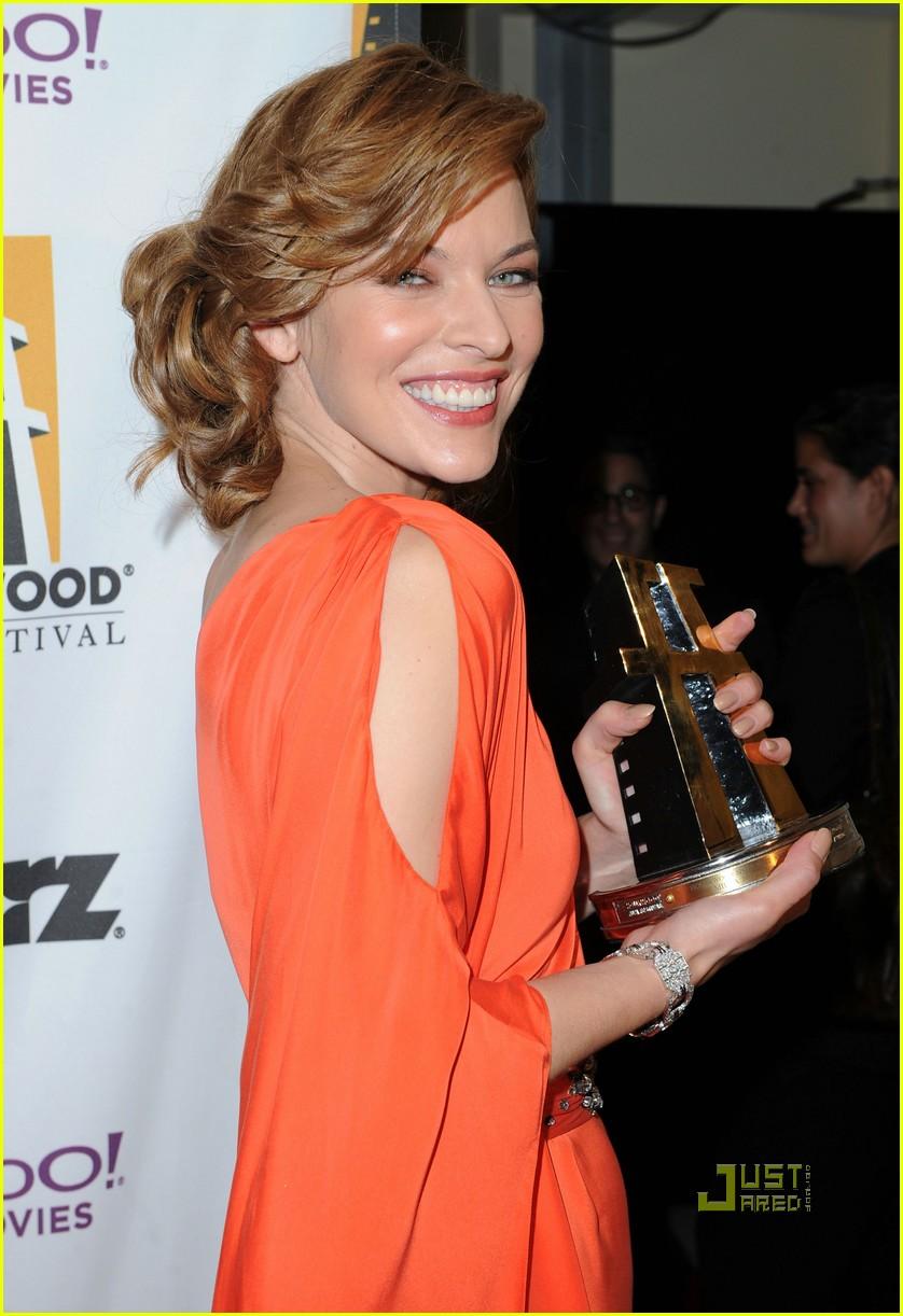 milla jovovich hollywood awards 022490455