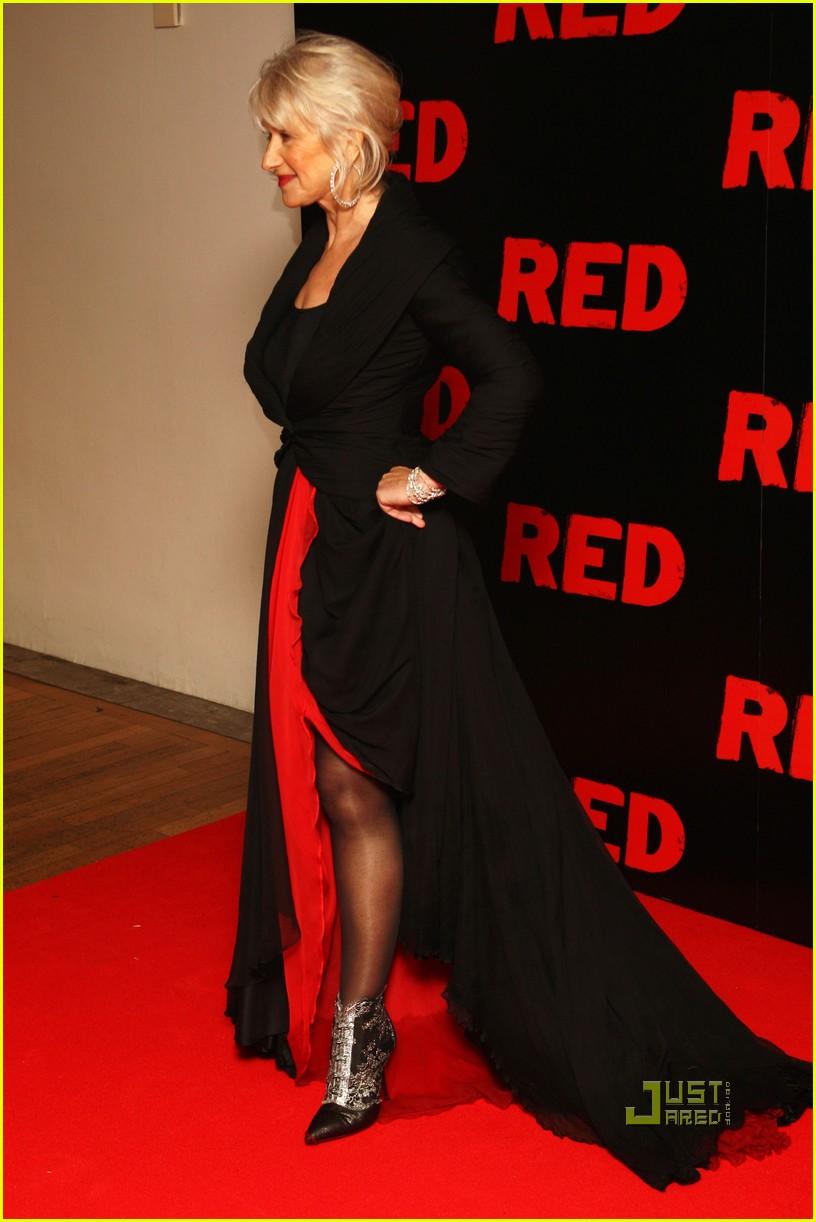 helen mirren bruce willis red uk film premiere 062488882